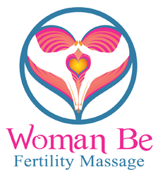 Woman be fertility massage logo